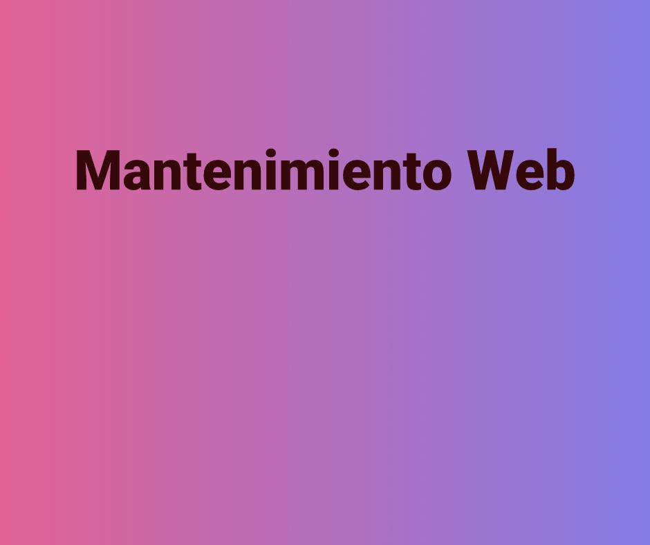 ¿Es el mantenimiento web imprescindible?