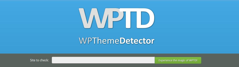 Qué plantilla utiliza una web con WPTD