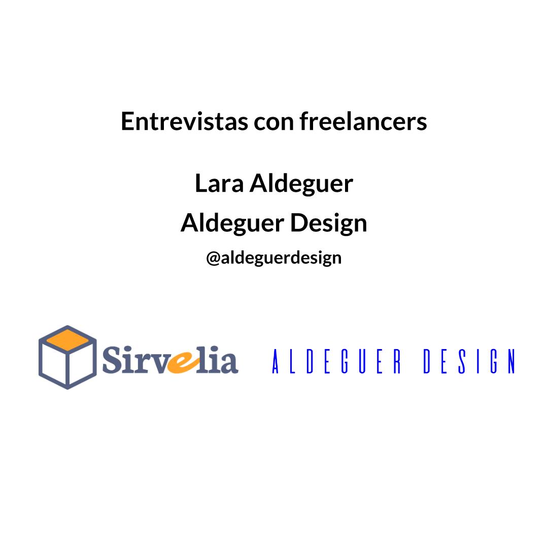 Lara Aldeguer – Aldeguer Design | Entrevistas con freelancers